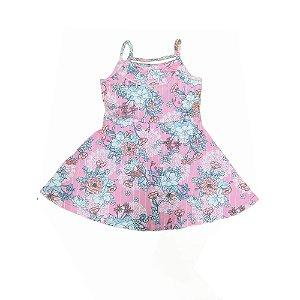 Vestido Infantil Floral 10150599 Kely & Kety
