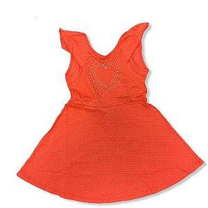 Vestido Infantil Feminino Liso 10150600 Kely & Kety