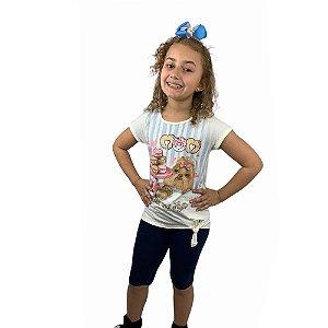 Conjunto Infantil Malha e Cotton 11050577 Kely & Kety