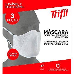 Kit de 6 Máscaras Trifil Lavável Reutilizável W06105
