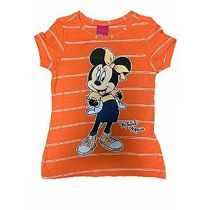Camiseta Manga Curta Minnie D13226 Disney