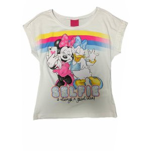 Camiseta Manga Curta Selfie D31219 Disney