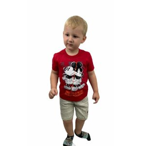 Conjunto Camiseta e Bermuda Minnie & Mickey D900741140 Disney
