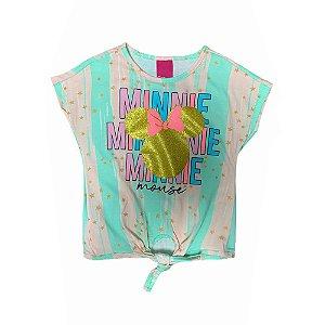 Camiseta Manga Curta Minnie D31199 Disney