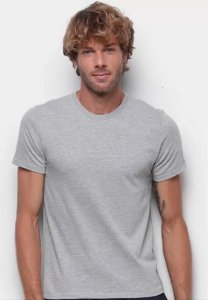 Camiseta T-Shirt Hering Slim Básica Masculina H0299