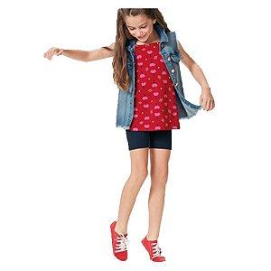 Conjunto Infantil Estampado Malwee Kids 1000069662
