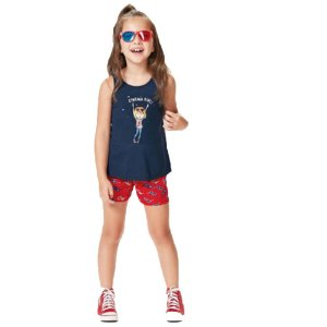 Conjunto Infantil Cinema Girl Malwee Kids 1000069665