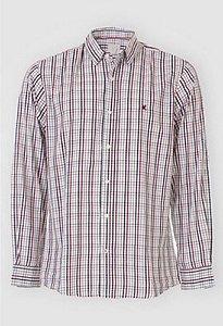 Camisa Masculina Xadrez Manga Longa 1000053640 Malwee