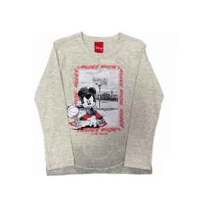 Camiseta Manga Longa Mickey Mouse D60188  Disney