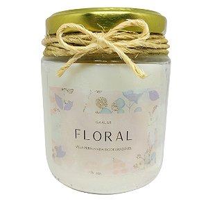 Vela Perfumada (Floral) - 190g