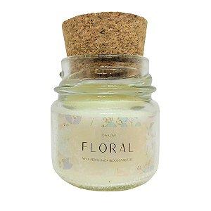 Mini Vela Aromática Floral - 30g