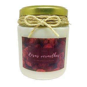 Vela Perfumada (Rosas Vermelhas) - 190g