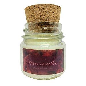 Mini Vela Perfumada (Rosas Vermelhas) - 30g