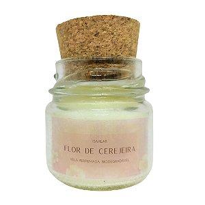 Mini Vela Aromática Flor de Cerejeira - 30g