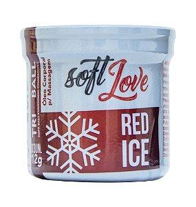 BOLINHA EXPLOSIVA TRIBALL RED ICE