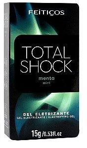 VIBRADOR LÍQUIDO TOTAL SHOCK MENTA