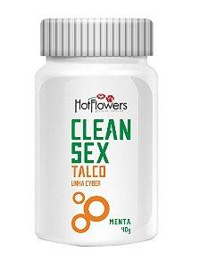 TALCO PARA VIBRADOR CLEAN SEX MENTA