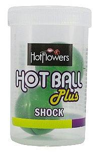 HOT BALL PLUS SHOCK- VIBRADOR LÍQUIDO