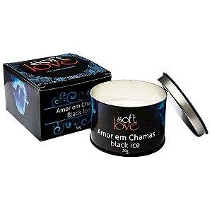 AMOR EM CHAMAS BLACK ICE VELAS 50GR