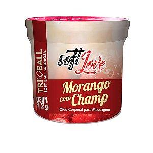 TRIBALL MORANGO C/ CHAMP SOFT BALL AROMAS 12GR