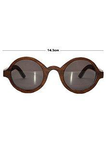 Óculos de madeira - ÍNDIA escuro