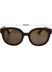 Óculos de Madeira Arraia Black