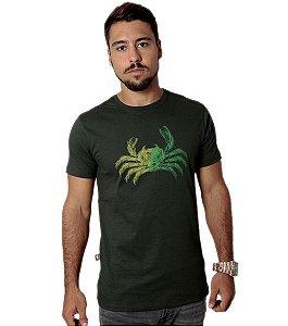 Camiseta Coqueiro Manglier - Verde