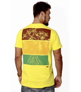 Camiseta Rhizophora Mangle - Amarela