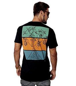 Camiseta Rhizophora Mangle - Preta
