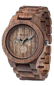 Relógio de madeira - KAPPA NUT