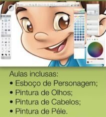 Curso 1. Aula 3 - Pintura Digital com SketchbookPro (entrega via Download)