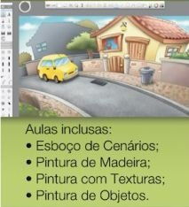 Curso 1. Aula 4 - Pintura Digital com SketchbookPro (entrega via Download)