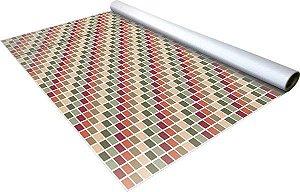Adesivo hidráulico - Pastilhas - 1,04 x 6,00m
