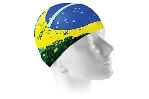 Touca de Natação Speedo Brazil Flag Cap