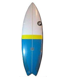 Prancha de Surf Pro Ilha Hydro Fish 5´8´´