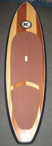 Prancha de Stand Up Paddle Kanaha 10´ Wood - Sob Encomenda