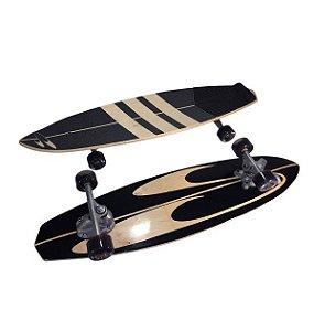 SurfSkate Stunner Black Out - Simulador de Surf