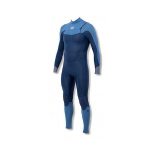 Long John Billabong Absolute 3.2 mm Chest Zip - Azul