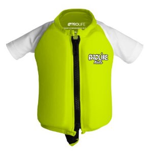 Camisa de lycra infantil com flutuador Pro Life