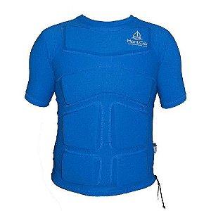 Camisa de Lycra com Flutuador Mar   Cia manga curta 37d07cf114e68
