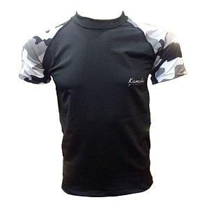 Camisa de Lycra Kanaha M/C Camuflada