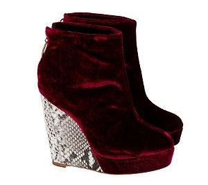 ankle boot zircônio