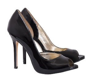 peep toe citrino