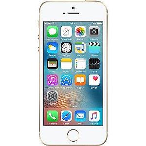 """iPhone SE 16GB Dourado Tela 4"""" IOS 9 4G Câmera 12MP - Apple"""