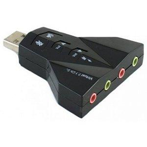Adaptador de Placa de Som USB