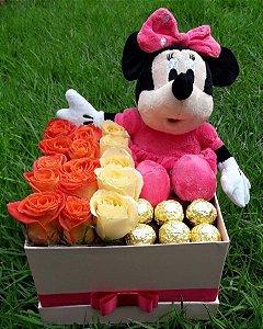 BOX FLOWER MINIE COM FERRERO ROCHER