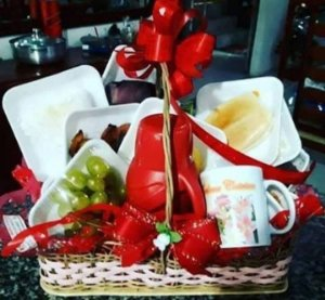 Cesta Café da manhã Love