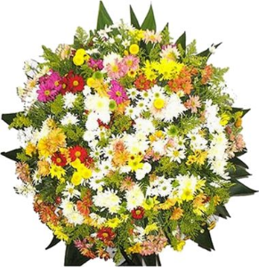 Coroa Flores do Campo 1x1 Mt