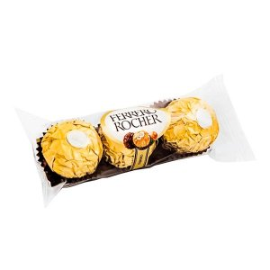 Trio de chocolates Ferrero Rocher