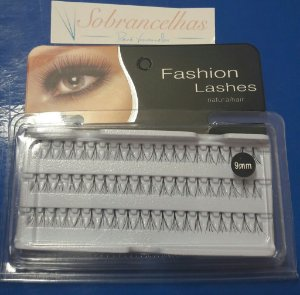 TUFOS DE CÍLIOS PARA ALONGAMENTO - FASHION LASHES Nº 9